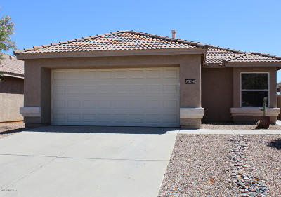Oro Valley Single Family Home Active Contingent: 2334 E Precious Shard Court