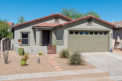 Oro Valley Single Family Home Active Contingent: 12965 N Yellow Orchid Drive