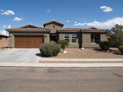 Marana Single Family Home Active Contingent: 11480 N Vista Ranch Place