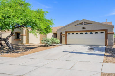 Tucson Single Family Home Active Contingent: 2856 S Beck Drive