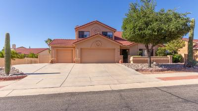 Tucson Single Family Home Active Contingent: 11481 N Quicksilver Trail