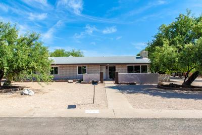 Tucson Single Family Home Active Contingent: 7500 E Calle Agerrida