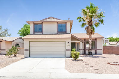 Tucson Single Family Home For Sale: 2571 W Falbrook Way