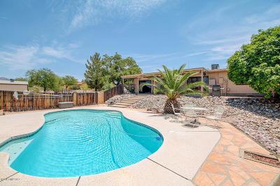 Tucson Single Family Home Active Contingent: 5925 N Placita Chico