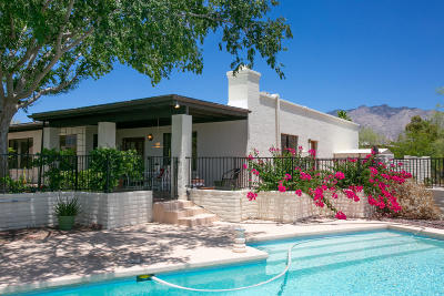 Tucson Single Family Home Active Contingent: 4473 N Camino Cardenal