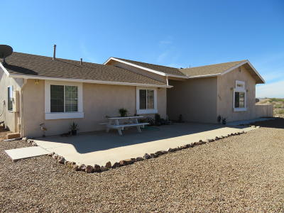 Cochise County Single Family Home For Sale: 423 N Saddle Vista Road