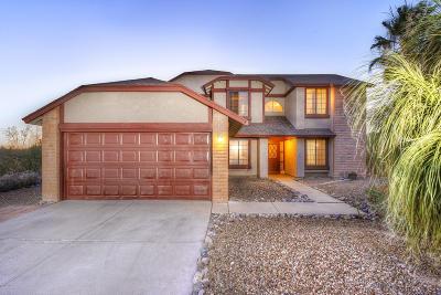 Tucson Single Family Home Active Contingent: 383 S Stonington Place