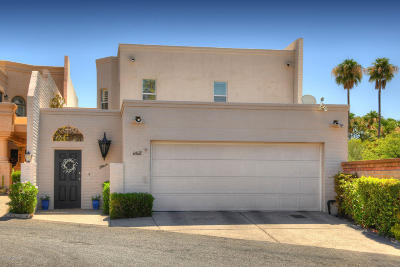 Tucson Townhouse For Sale: 6468 N Green Briar Drive