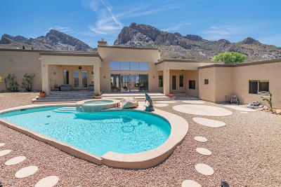 Oro Valley Single Family Home Active Contingent: 9791 N La Reserve Place