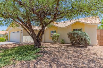 Tucson Single Family Home Active Contingent: 9629 E Paseo Del Tornasol