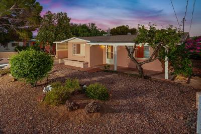 Tucson Single Family Home For Sale: 2542 E Halcyon Road