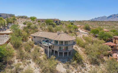 Tucson Single Family Home For Sale: 6340 E Valle Di Cadore