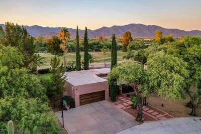 Tucson Single Family Home Active Contingent: 12435 E Gold Dust Drive
