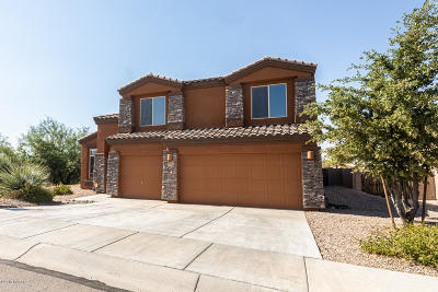 Tucson Single Family Home Active Contingent: 5023 W Willow Rock Way