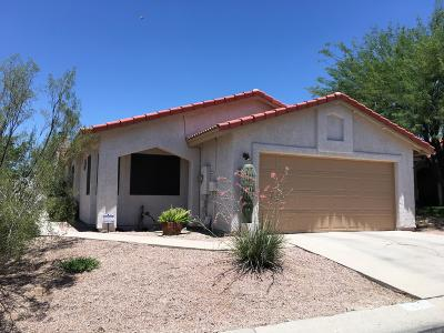 Tucson Single Family Home For Sale: 5360 W Wood Owl Drive