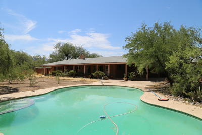 Pima County, Pinal County Single Family Home Active Contingent: 10401 E Flintlock Trail