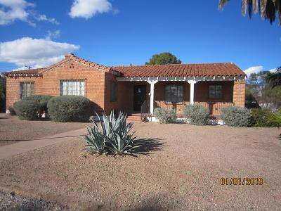 Tucson Single Family Home For Sale: 3147 E Pima Street