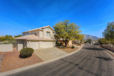 Tucson Single Family Home Active Contingent: 10668 N Sand Canyon Place