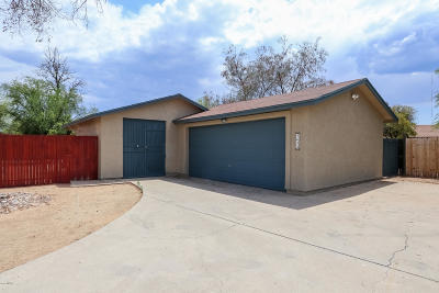 Tucson Single Family Home Active Contingent: 4643 N Edgebrooke Place