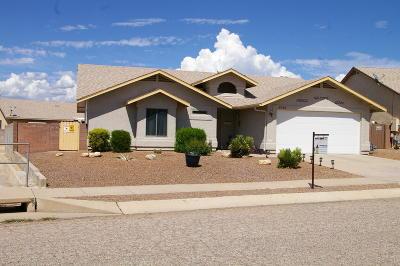 Tucson Single Family Home Active Contingent: 8249 S Via Del Barquero