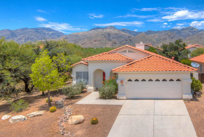 Tucson Single Family Home Active Contingent: 7857 E Elk Creek Road