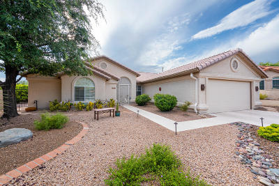 Pima County, Pinal County Single Family Home Active Contingent: 38458 S Bellrock Court