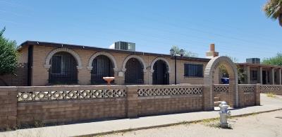 Tucson Single Family Home Active Contingent: 2242 E Virginia Street