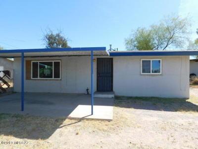 Tucson AZ Single Family Home For Sale: $111,000