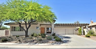 Oro Valley Single Family Home Active Contingent: 582 W Flaxen Drive