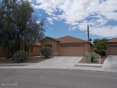 Tucson Single Family Home Active Contingent: 3270 S Lakeside Ridge Loop