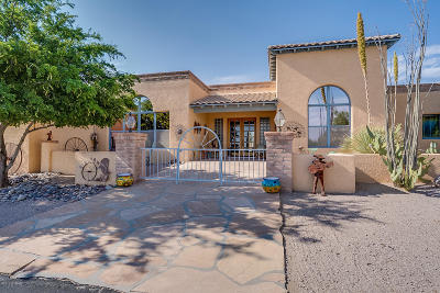 Tucson Single Family Home For Sale: 8041 E Paseo De Beatriz