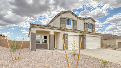 Marana Single Family Home For Sale: 9390 W Lone Cougar Way