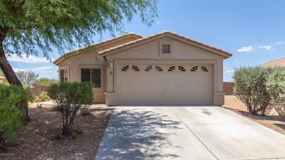 Tucson Single Family Home Active Contingent: 3386 S Desert Promenade Road