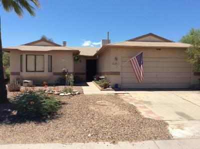 Tucson Single Family Home Active Contingent: 2511 W Glenbrook Way