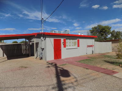 Tucson Single Family Home For Sale: 2507 N Sycamore Boulevard