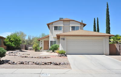 Tucson Single Family Home Active Contingent: 9297 N Yorkshire Court