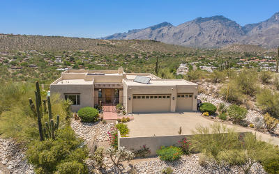 Tucson Single Family Home Active Contingent: 4311 N Summer Set Loop