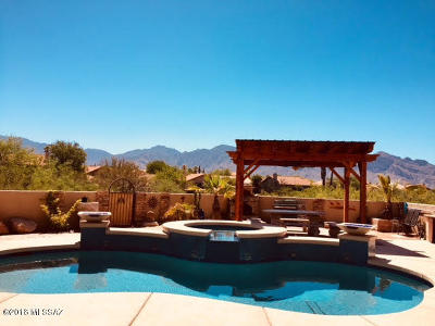 Tucson Single Family Home Active Contingent: 1209 W Crystal Palace Place
