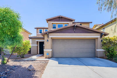 Tucson Single Family Home Active Contingent: 7057 S Greeneyes Lane