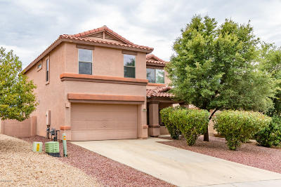 Tucson Single Family Home Active Contingent: 60391 E Blackcrest Loop