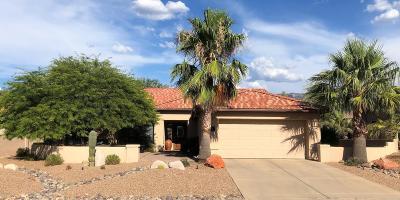 Saddlebrooke Single Family Home Active Contingent: 37945 S Desert Bluff Drive