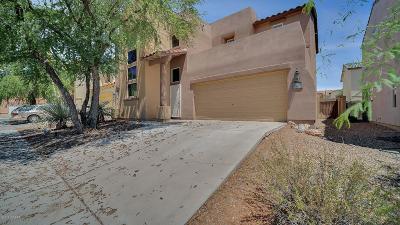 Pima County Single Family Home Active Contingent: 122 W Camino Rancho Palomas
