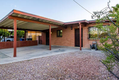 Tucson Single Family Home Active Contingent: 1341 N Belvedere Avenue