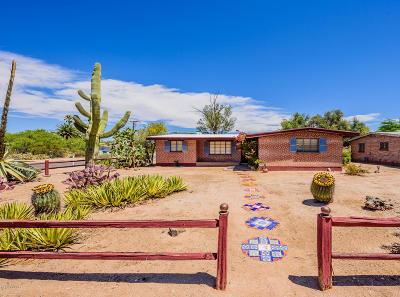 Tucson Single Family Home Active Contingent: 3201 E Elida Street