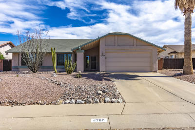 Tucson Single Family Home For Sale: 4760 W Hardy Road
