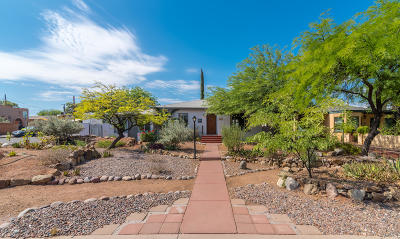 Tucson Single Family Home For Sale: 1950 E 8th Street