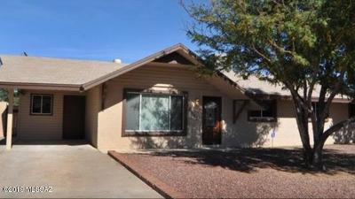 Tucson Single Family Home Active Contingent: 6125 E Calle Silvosa