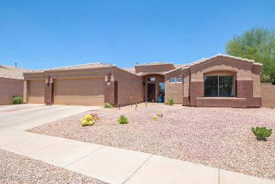Pima County Single Family Home Active Contingent: 312 W Sugar Loaf Road