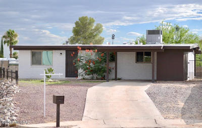 Tucson Single Family Home For Sale: 1830 S Berthed Place