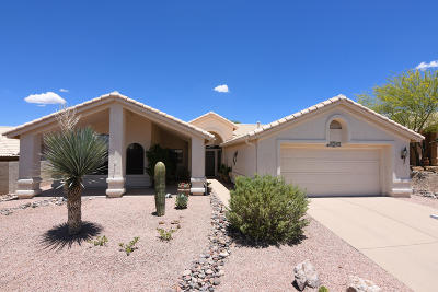 Saddlebrooke Single Family Home Active Contingent: 65730 E Rocky Trail Drive
